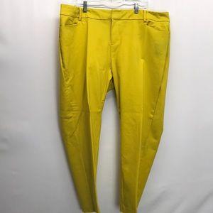 Kady crop pants eloquiI 20W short plus size